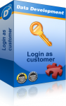 Login as Customer PE