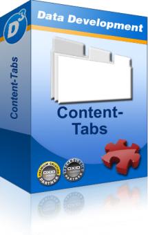Content Tabs für Oxid PE