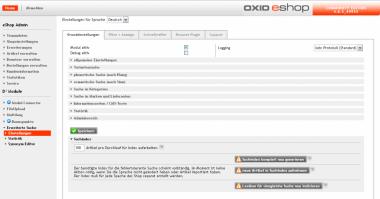Erweiterte Suche für Oxid EE  Icon Nr 5